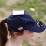 Solar Powered Fan Hat