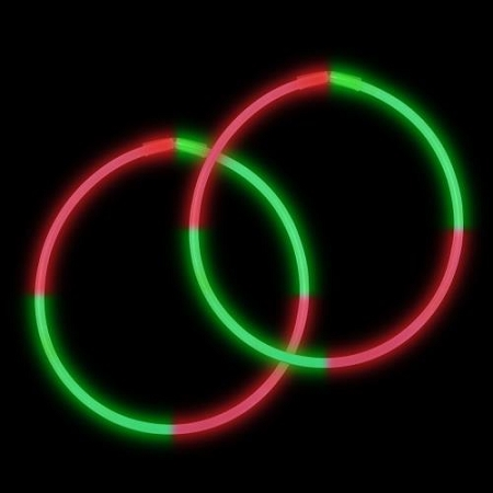22-bi-glow-necklaces-red-green-red-green