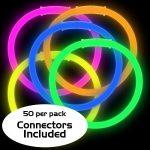 8″ Glow Bracelets (50-Pack)