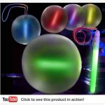 LED Light Up Beach Ball 10″