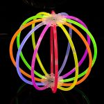 Glow Orbs 8PK Mixed Colors