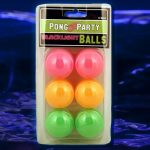 Blacklight Beer Pong Balls