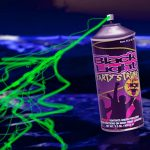 Blacklight Confetti Spray Can