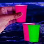 Blacklight Shot Glasses