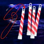 Candy Cane Glow Sticks (4 pack)