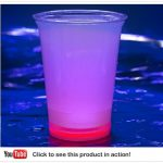 Cool Glow Cups 12oz. Red (50 per pack!)