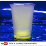 Cool Glow Cups 12oz. Yellow (50 per pack!)