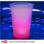 Cool Glow Cups 12oz. Pink (50 per pack!)
