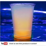 Cool Glow Cups 12oz. Orange (50 per pack!)