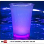 Cool Glow Cups 12oz. Purple (50 per pack!)