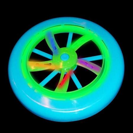 glow-frisbee