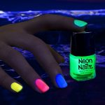 Glow in the Dark Neon Nail Polish: Green
