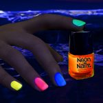 Glow in the Dark Neon Nail Polish: Orange