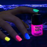 Glow in the Dark Neon Nail Polish: Pink