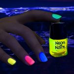Glow in the Dark Neon Nail Polish: Yellow