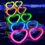 Glow Heart Shaped Glasses