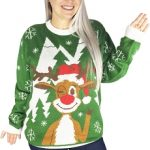 Ugly Christmas Sweater: Hello Deer