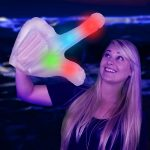 Inflatable LED Light-Up Finger