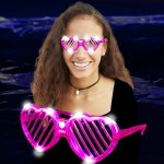 led-heart-slotted-shades