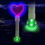 LED Heart Wand