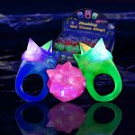 LED Light Up Jelly Rings