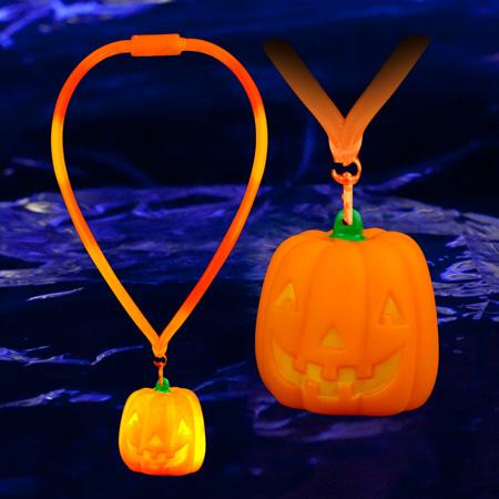 led-pumpkin-lanyard
