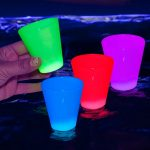 LED Atomic Glow Shot Glass