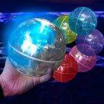 LED Bouncing Hologram Ball