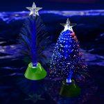 11.5″ Fiber Optic Christmas Tree Centerpiece