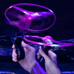 LED Flashing UFO Toy
