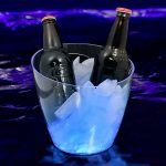 Lighted Ice Bucket: Blue