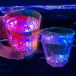 Light Up Whiskey Rocks Style Cups (8-Mode)