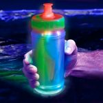 LED Flashing Water Bottle