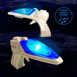 Mini LED Blaster Ray Gun with Sound