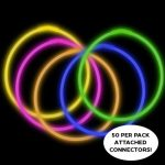 22″ Premium Glow Necklaces (50 per Pack)