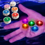Party Dots (5 Pack) Self-Stick LED Lights