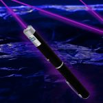 Laser Pointer Pen: Purple