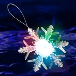 LED Snowflake Ornament