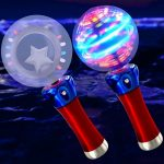 LED Star Spinner Wand