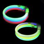 Triple Wide Glow Bracelet
