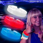 Triple Wide Glow Bracelet Bangle