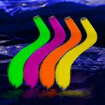 Blacklight Reactive Hair Extensions